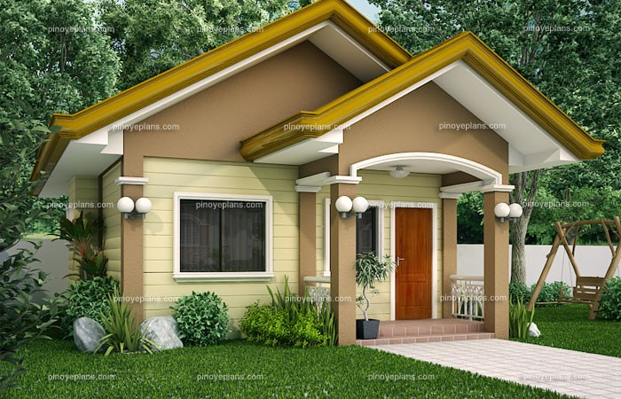 SHD 20120001 Perspective 2B 700x450 - Get Small House Design Bungalow Gif