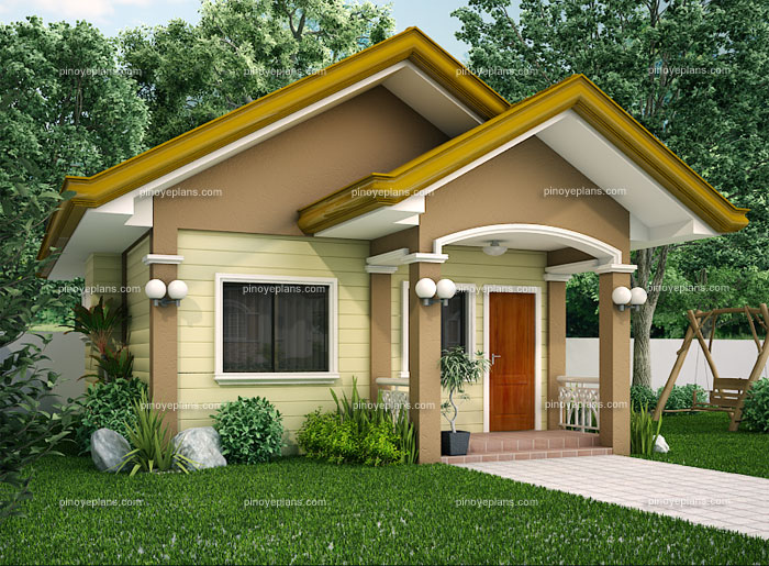 Small house designs shd 20120001 pinoy eplans for Small house design native