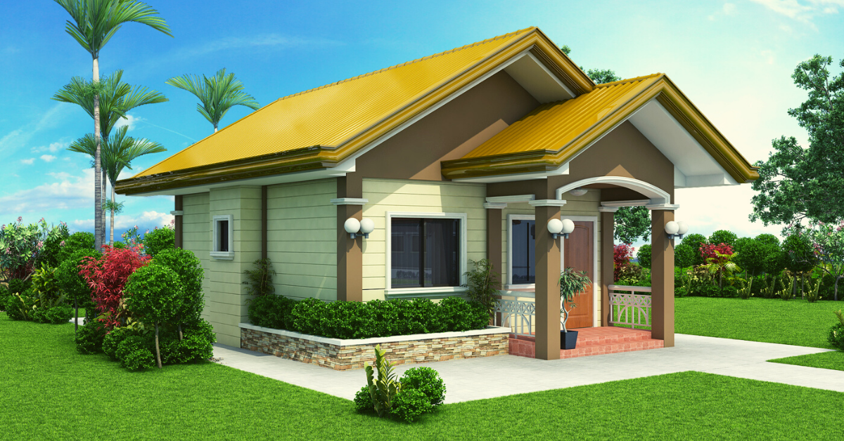 Small House Designs - SHD-2012001  Pinoy ePlans
