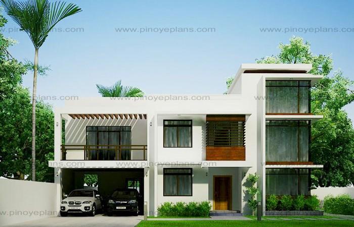 modern house design 2012002 pinoy eplans rh pinoyeplans com