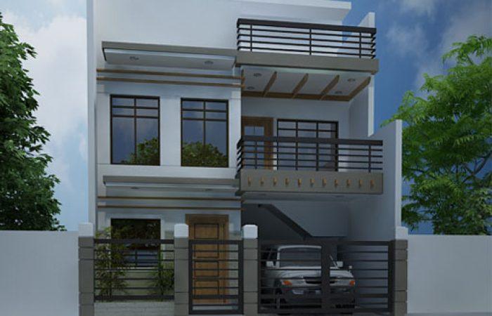 Modern House Designs Series MHD 2012007 Pinoy ePlans