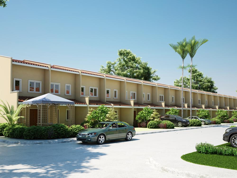 (Floor Plan Code # THD 2012001). Row Houses