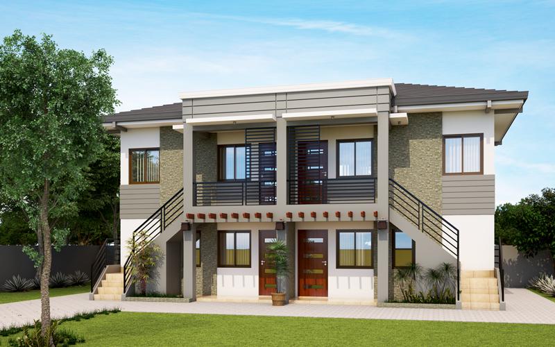Apartment Design 2017001 View3pinoy Eplans