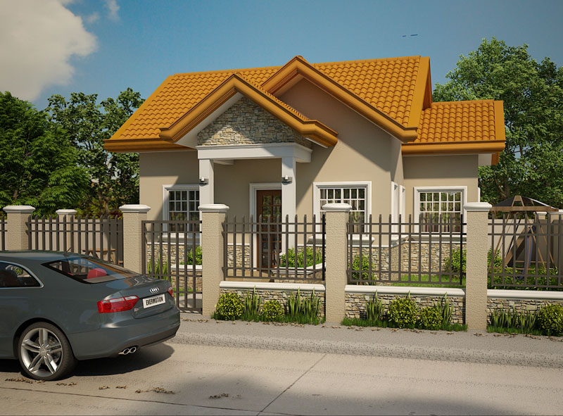 Small house designs shd 2012003 pinoy eplans for Small house design worth 300 000 pesos