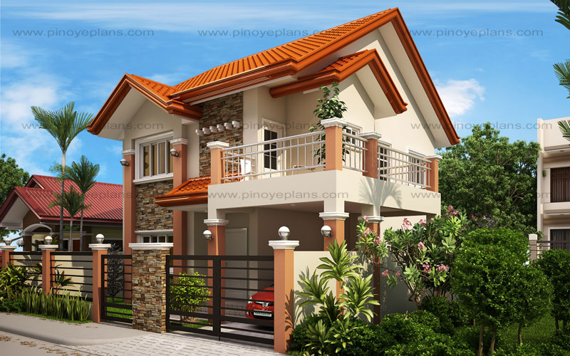 Mhd 2012004 pinoy eplans for Modern house website