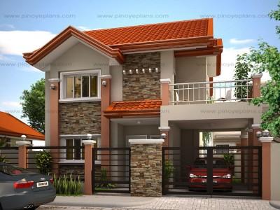 Beautiful Floor Plan Code: MHD 2012004 | 166 Sq.m. | 4 Beds | 3 Baths