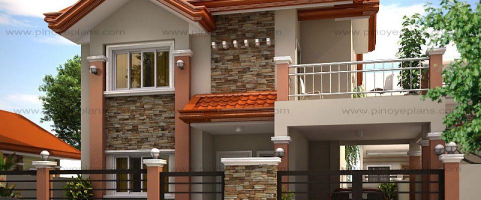 Pinoy EPlans - 2 storey 3 bedroom house design philippines