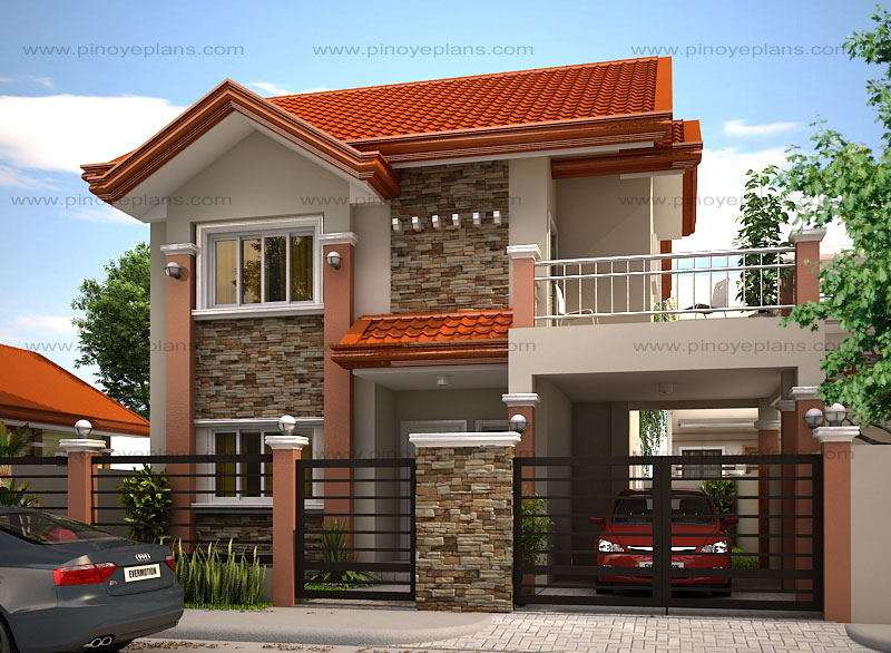 Mhd 2012004 pinoy eplans for Modern house design for small house