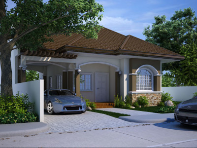 floor plan code shd 2013004 101 sqm 3 beds 1 baths - Picture Of House Design