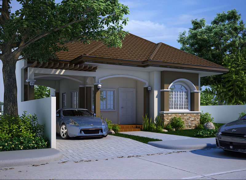 Small house design 2013004 pinoy eplans for House garage design philippines