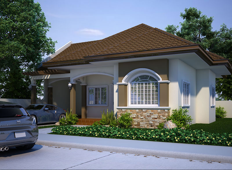 Small house design 2013004 pinoy eplans for Modern house design 2015 philippines