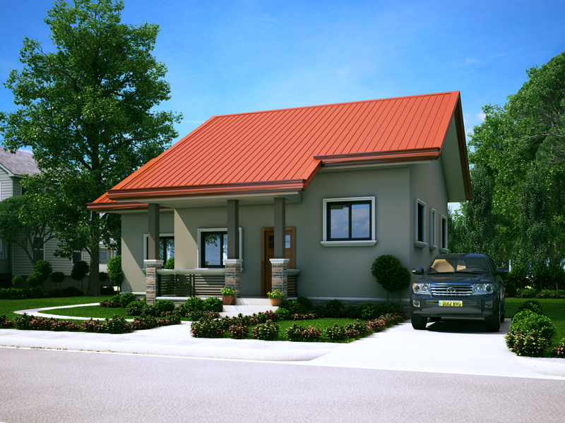 Small house design 2014006 pinoy eplans for Small house design for bangladesh