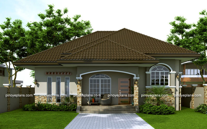 Umbrella Roof House Design