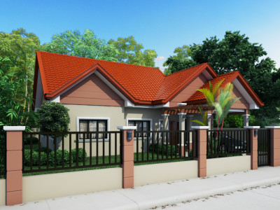 Bungalow house plans pinoy eplans Real estate house plans