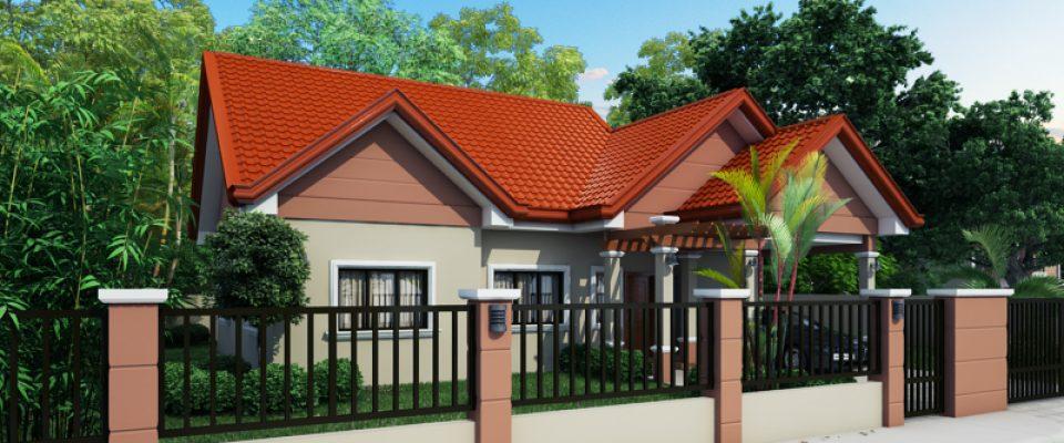 Small House Designs Series: SHD 2014009 | 133 Sq.m. | 3 Beds | 2 Baths