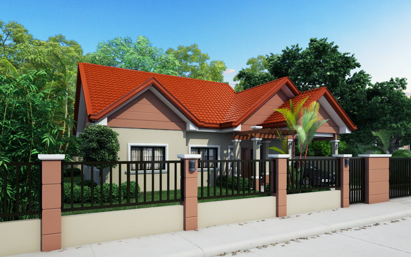 Small House Designs Series: SHD-2014009  Pinoy ePlans - Modern House Designs, Small House