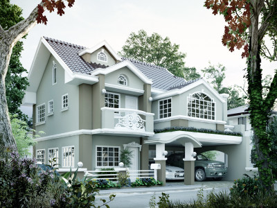 Two storey house plans pinoy eplans for Small house design worth 300 000 pesos
