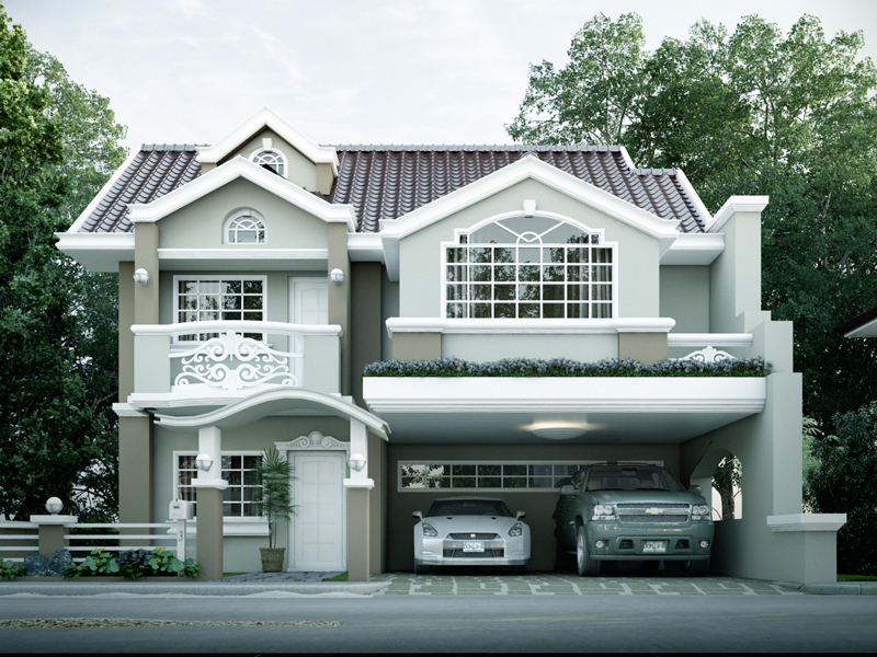 Superior Contemporary House Design MHD 2014011 View2