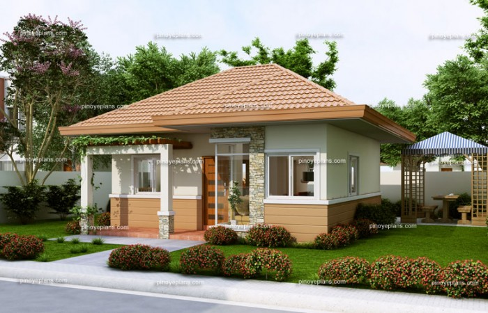 Small house design series shd 2014008 pinoy eplans for Small house design 100 sqm