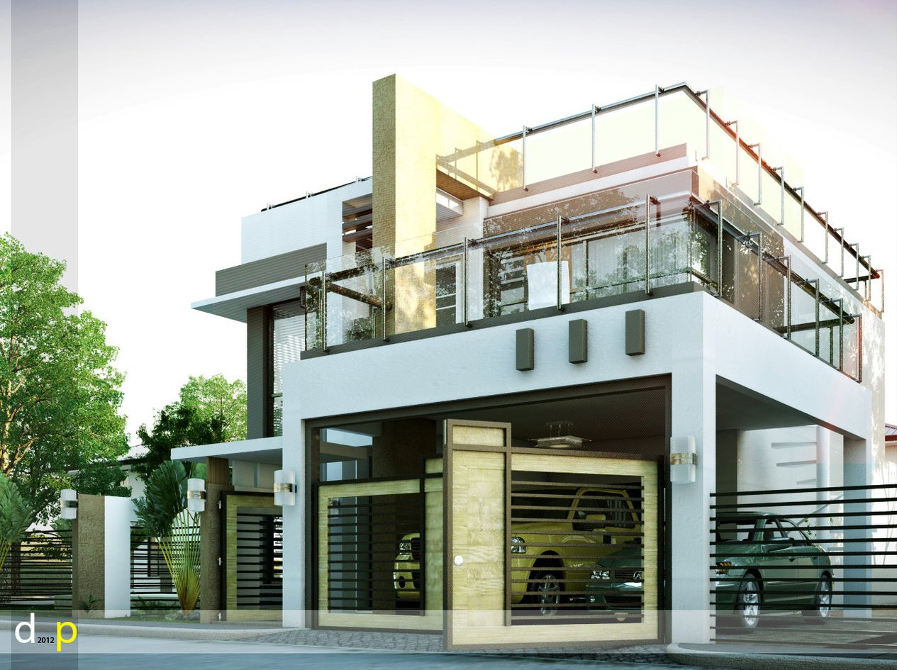 Modern house designs series mhd 2014010 pinoy eplans for Modern home design hk