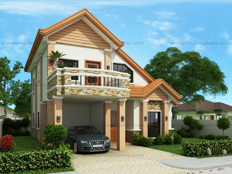 Modern house design series mhd 2014013 pinoy eplans for 70 square meter modern house design