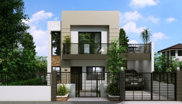 Mhd 2017014 Front View 700x400 Jpg 700 400 Pixels Modern Residential Architecture Pinterest House And Shipping Container Houses