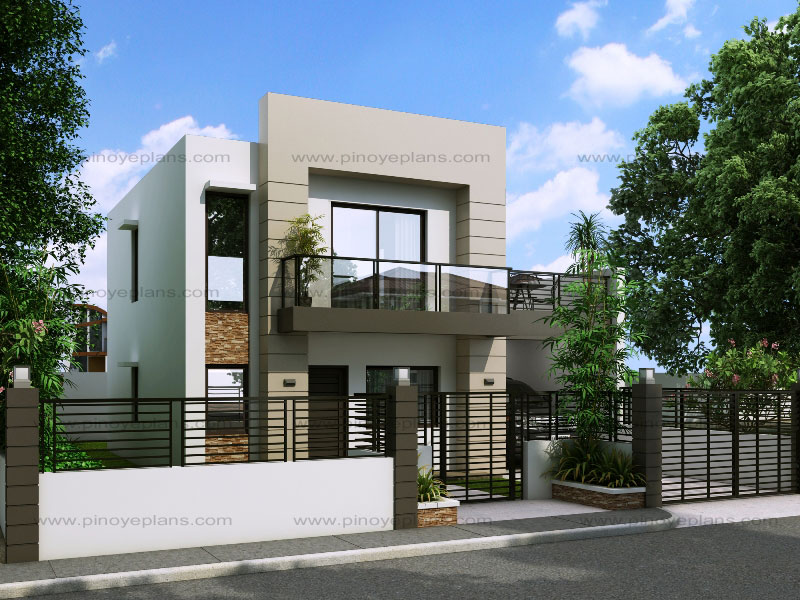 Modern House Design Series: MHD-2014014