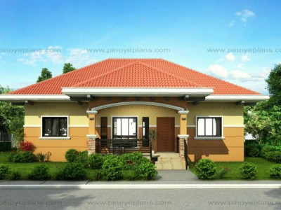 Small house designs pinoy eplans for Front view house plans