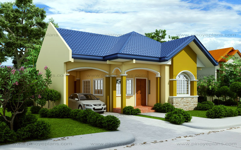 Small house design 2015012 pinoy eplans for A small beautiful house