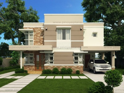 Design For Houses Modern House Designs Series Mhd2012007  Pinoy Eplans