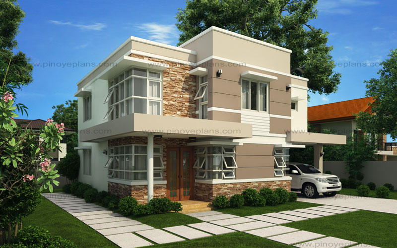Modern house design series mhd 2012006 pinoy eplans for Best modern house design 2018