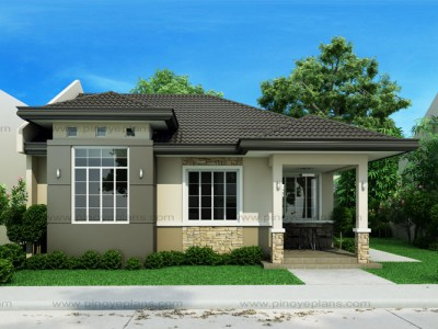 Small house designs pinoy eplans for Small house architecture design philippines