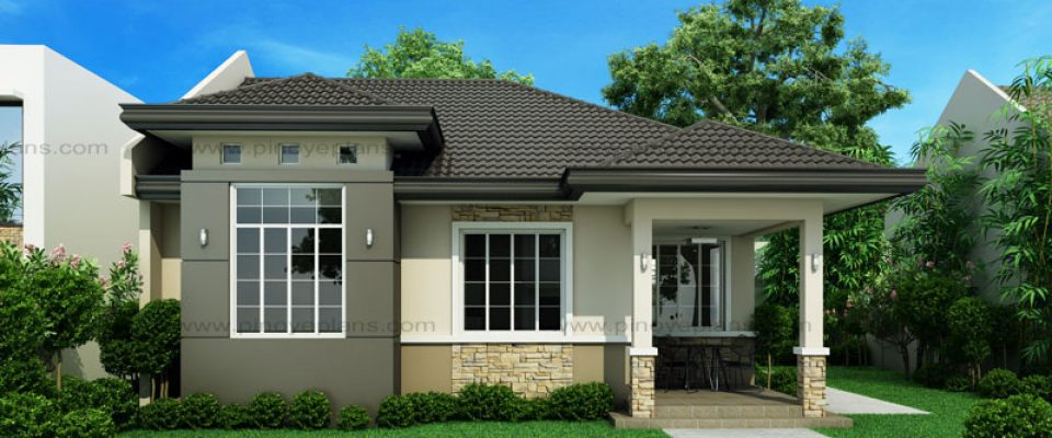 Architectural House Designs In The Philippines Part - 15: Small House Design: SHD-2015013   93 Sq.m.   3 Beds   2 Baths