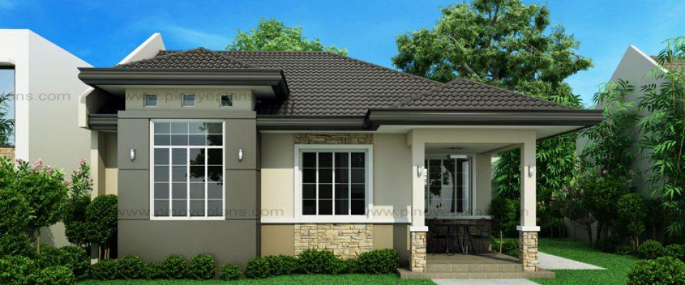 Small House Design Shd 2017013 93 Sq M 3 Beds 2 Baths