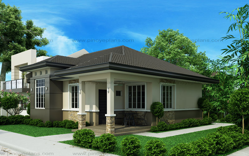 Small house design shd 2015013 pinoy eplans for Small house design worth 300 000 pesos