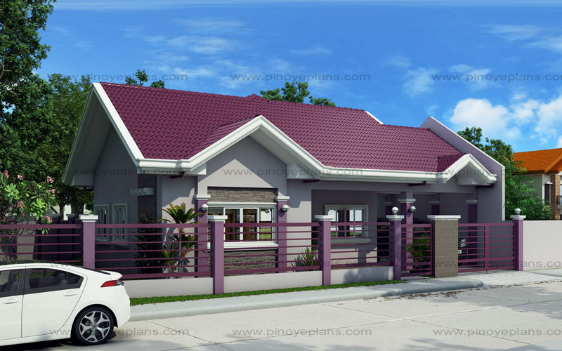Small house design shd 2015014 pinoy eplans for Pinoy house design