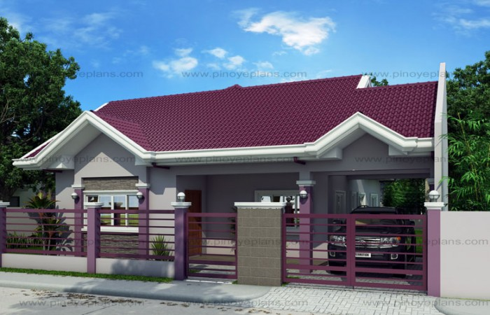 Small house design shd 2015014 pinoy eplans for Small house gate design