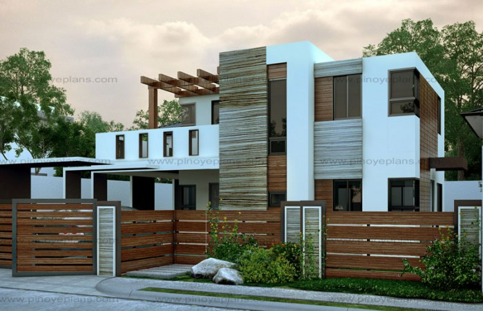 Modern House Design Series: MHD-2015015