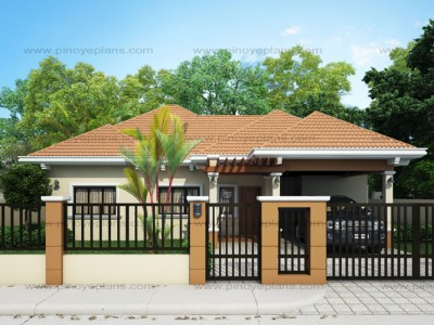Bungalow house plans pinoy eplans for Home design philippines small area