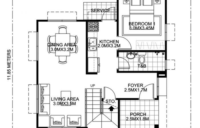 Modern House Design Series Mhd 2015016 Pinoy Eplans