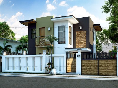 modern design homes. Floor Plan Code  MHD 2015016 93 Sq M 4 Beds 2 Baths Single Family Homes Pinoy EPlans