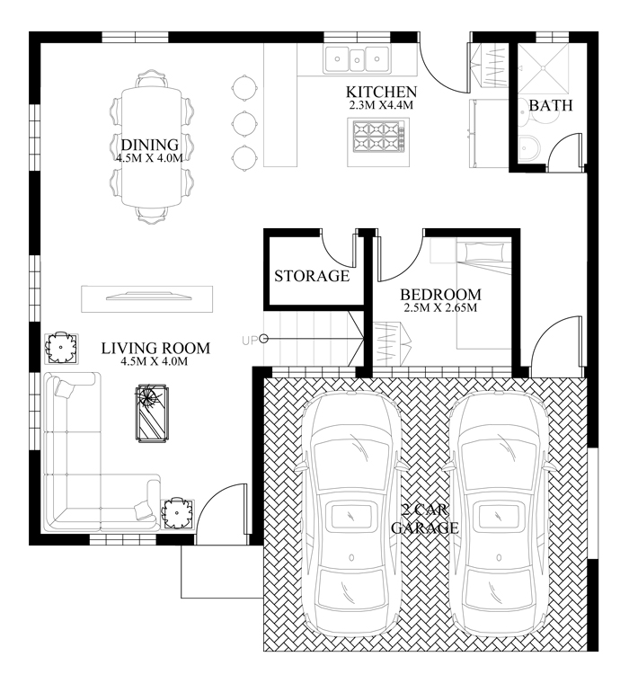 Contemporary-house-design-MHD-2014011-ground-floor