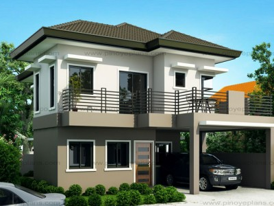 Two storey house plans pinoy eplans for 2 storey small house design
