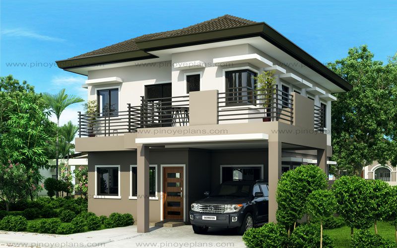 Four Bedroom Two Story House Design