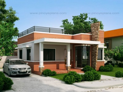 Small house designs pinoy eplans for Top 50 modern house design