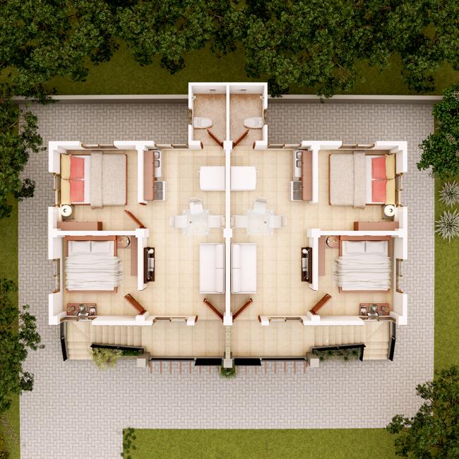 apartment design 2013001 second floor planpinoy eplans. Black Bedroom Furniture Sets. Home Design Ideas
