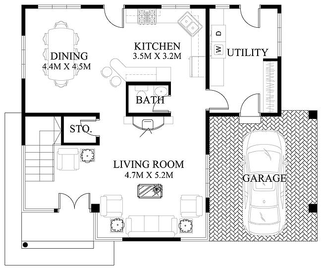 modern-house-design-2012006-ground-floor-plan