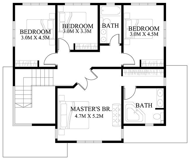 modern-house-design-2012006-second-floor-plan