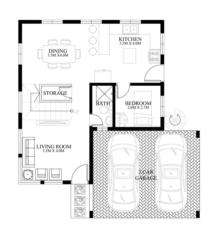 modern-housedesign-2014010-ground-floor-plan