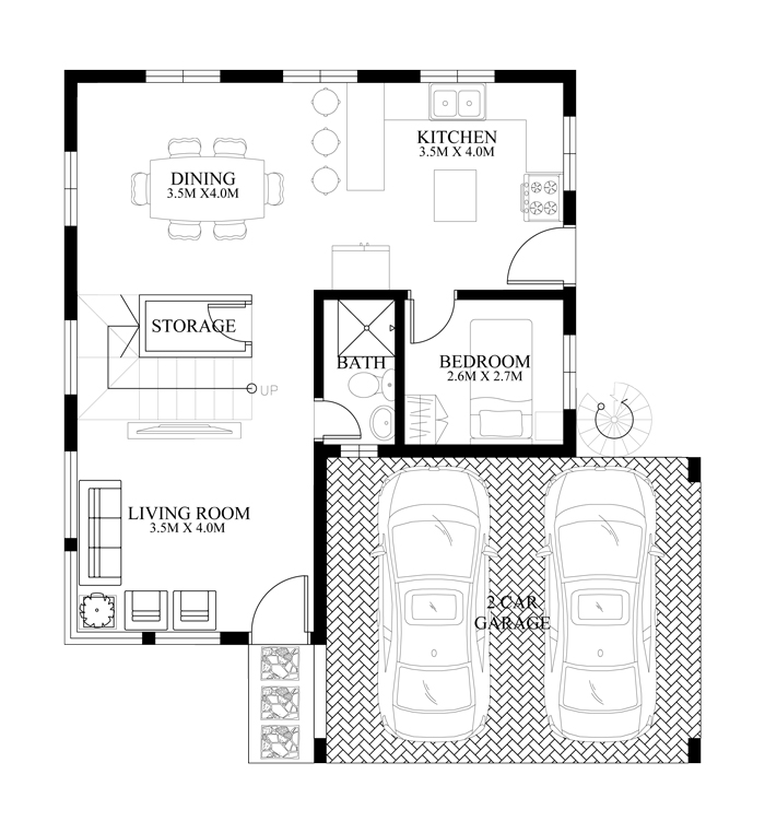 modern-housedesign-2014010-ground-floor-plan
